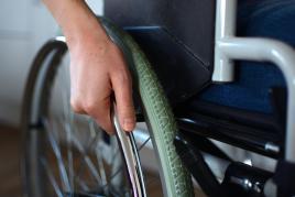 Rollstuhlfahrer Zubehör