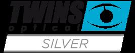 Twins optical Silver Lesebrillen