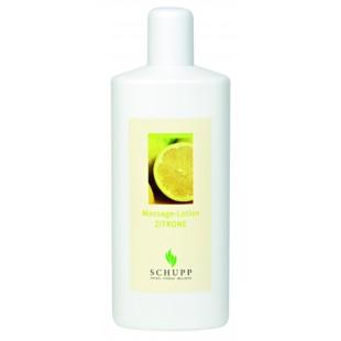 Schupp Massage-Lotion Zitrone
