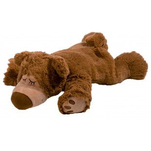 WARMIES Sleepy Bear braun