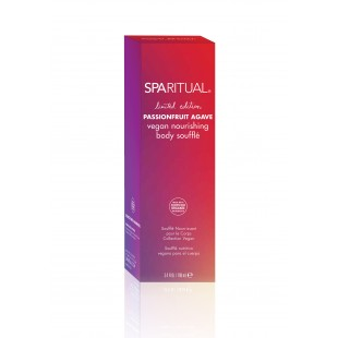 SpaRitual Passionfruit  Agave Vegan Nourishing Body Souffle