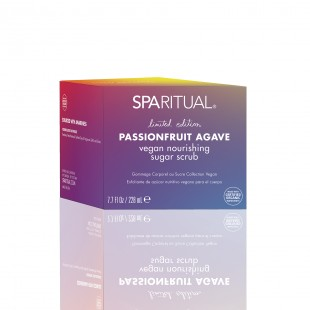 SpaRitual Limited Edition Passionfruit Agave vegan nourishing sugar scrub