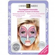 CHIARA AMBRA Gesichtsmaske Schmetterling - Feuchtigkeits-Vliesmaske im Tierdesign