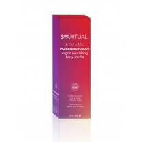 SpaRitual Limited Edition Passionfruit  Agave vegan nourishing body souffle