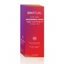 SpaRitual Limited Edition Passionfruit Agave vegan nourishing oil for body+hair