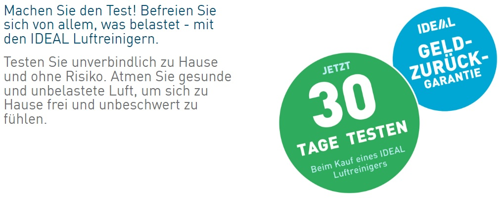 Ideal Health 30 Tage Testaktion