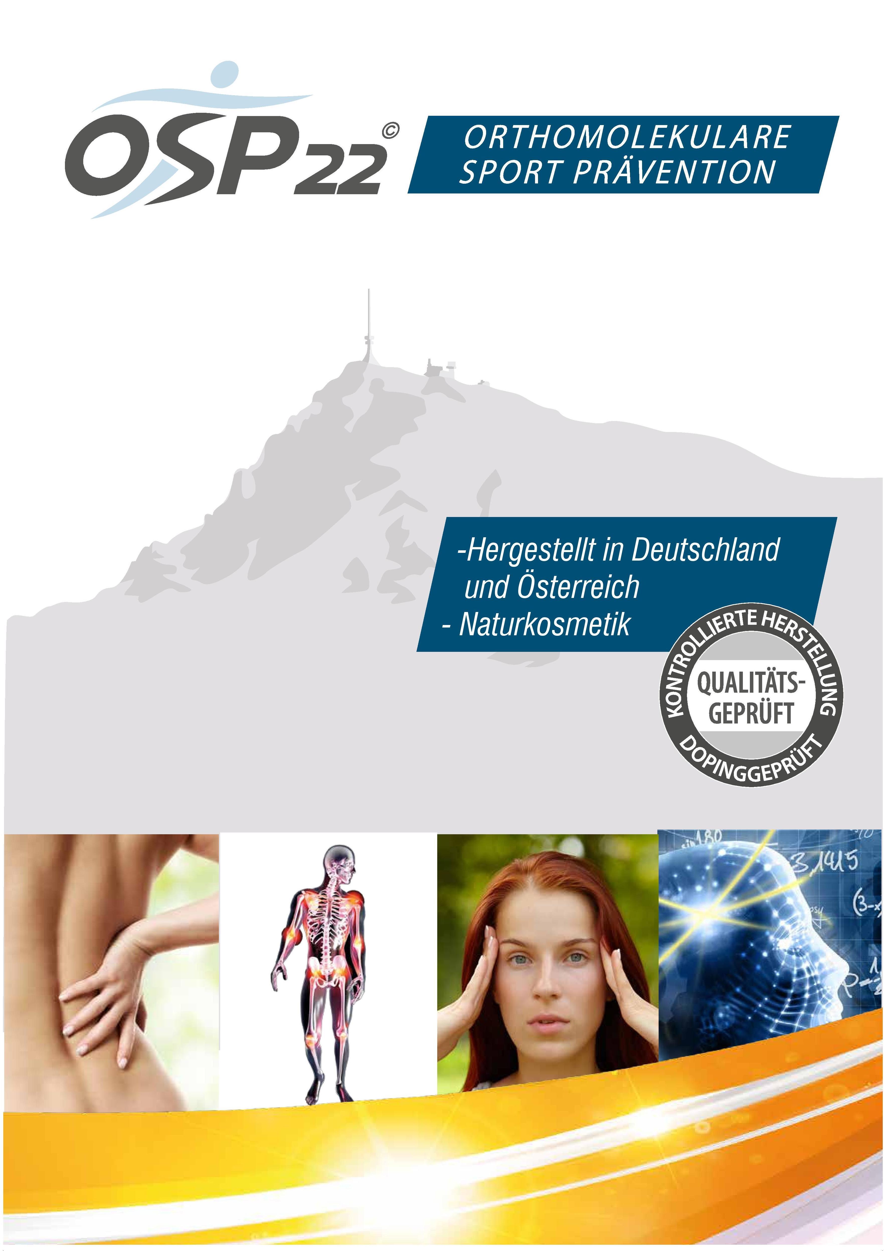 OSP 22 Orthomolekulare Sport Prävention