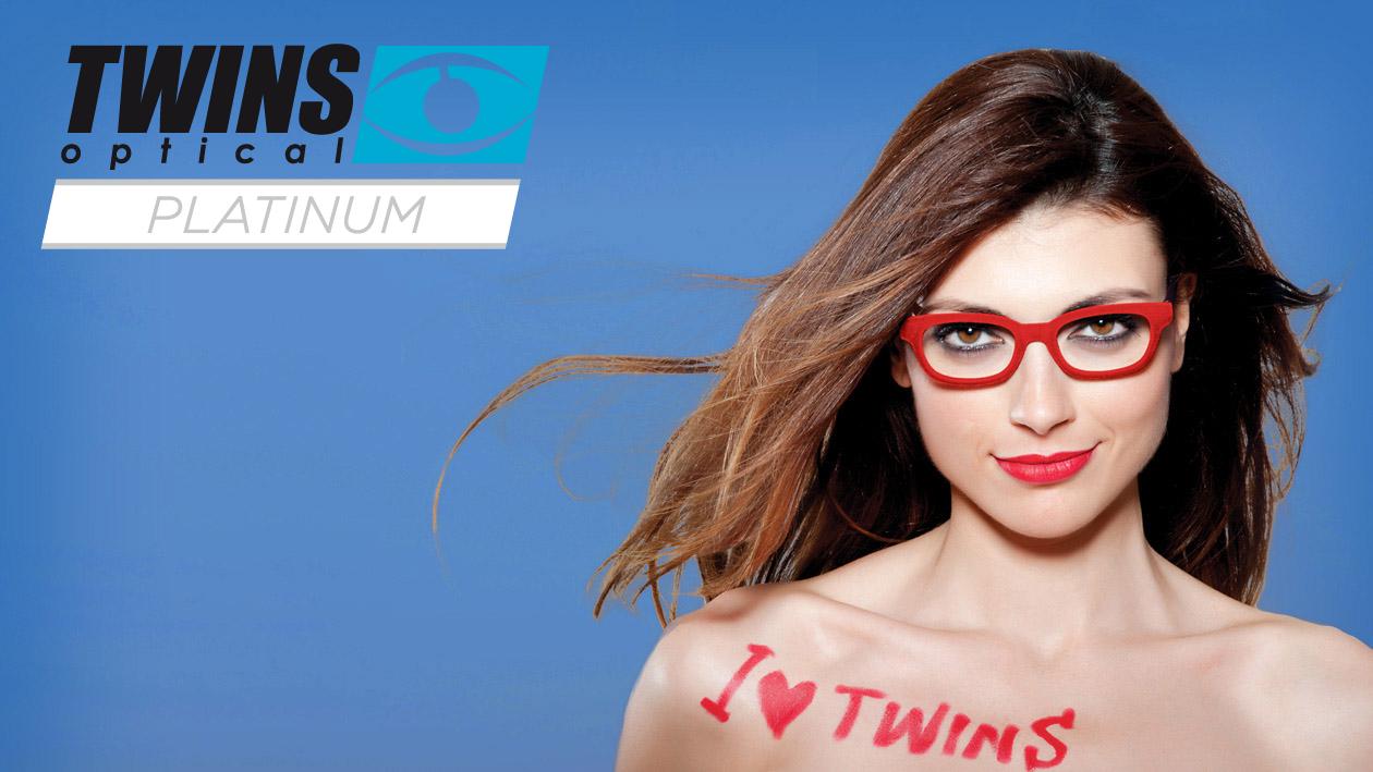 Twins optical Platinum Lesebrillen